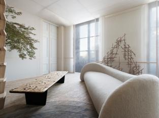 Showroom interiérů v Paříži