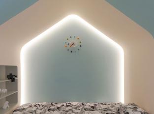 Bílý dům, rostoucí dům - dětský pokoj