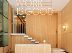"Coworking WOOD ""work is good"""