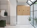 Bílý dům, rostoucí dům - obývací pokoj