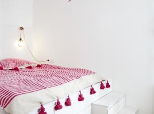 Byt U tří růží - ložnice