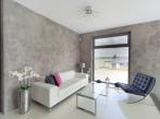 Betonepox v obývacím pokoji