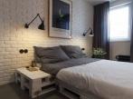 Půdní byt Krásova ložnice loznice