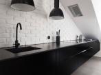 Půdní byt  Krásova kuchyně kuchyne