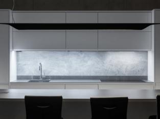 Kuchyň s imitací betonu