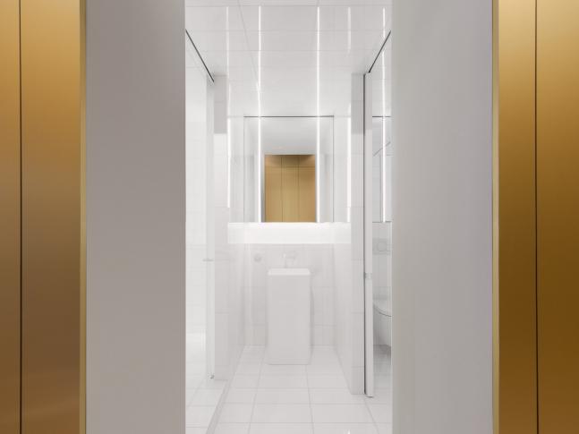Byt pro hudebního skladatele - koupelna