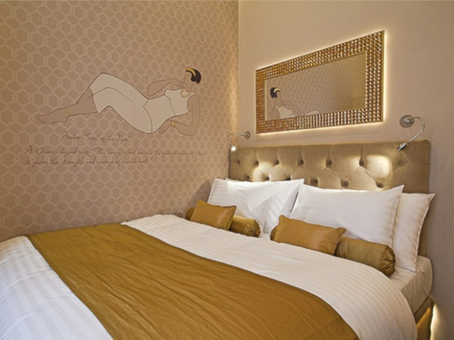 Jewel Hotel - amber