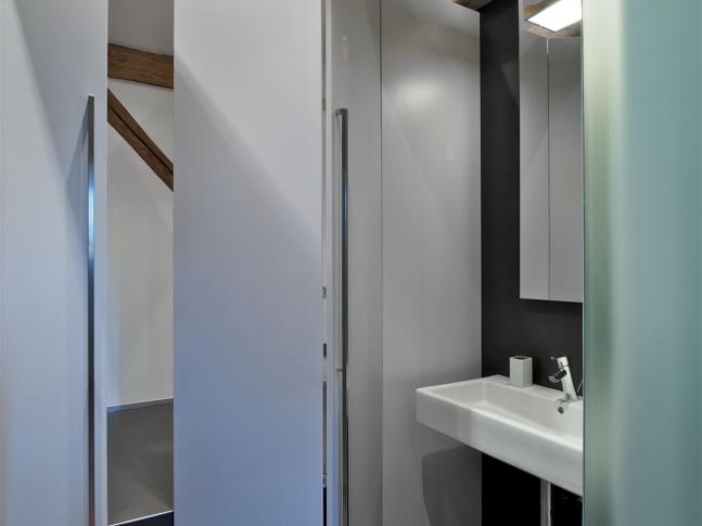 Byt s výhledem na hrad / koupelna