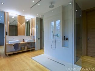 Rekonstrukce vily - koupelna