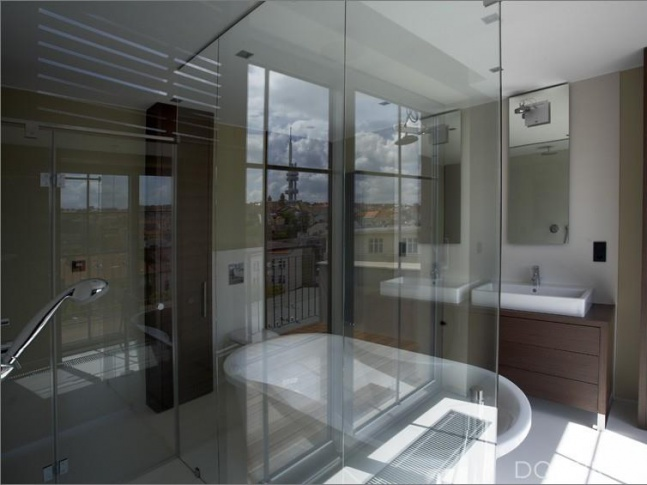 Byt pro sportovce - koupelna 1 Byt pro sportovce - koupelna 1