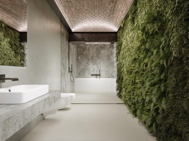 Koupelna residence Trend v Rakousku