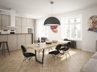 Duplex Bubeneč - kuchyň