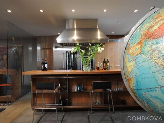 Půdní byt v Bílkově ulici / kuchyně