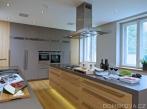 Rekonstrukce vily - kuchyně Rekonstrukce vily - kuchyně