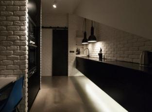 Půdní byt  Krásova kuchyně