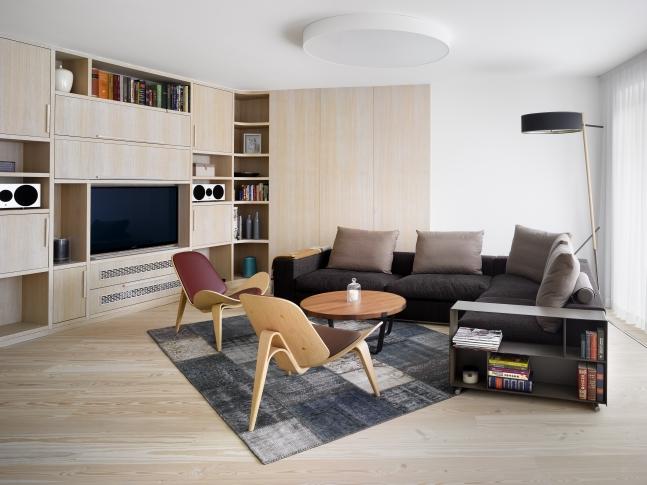 Byt Lannova - Obývací pokoj