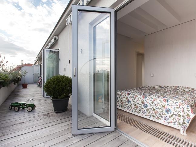 Malý penthouse - Ložnice