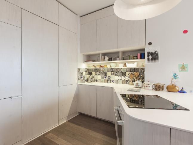 Malý penthouse - Kuchyň
