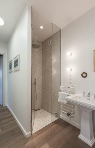 Malý penthouse - Koupelna