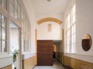 Rotterdamský loftový byt - chodba