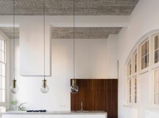 Rotterdamský loftový byt - kuchyň