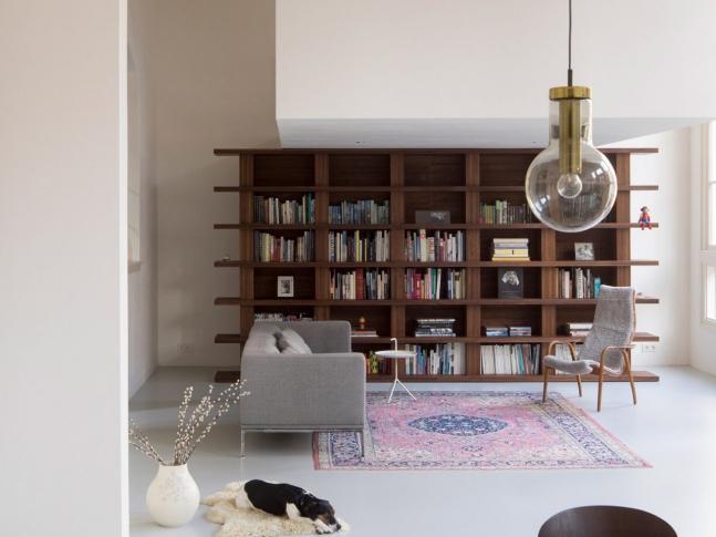 Rotterdamský loftový byt - obývací pokoj
