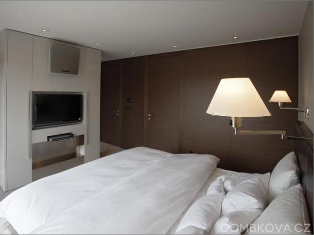 Byt pro sportovce - ložnice v 1. patře