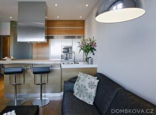 Malý byt v Břevnově / obývací pokoj