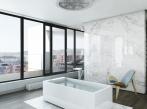 Marina Island penthouse MBR bathroom