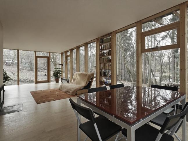 Dřevěný dům, Střední Čechy
