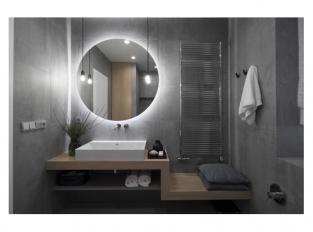 Severský interiér v Dejvicích - koupelna