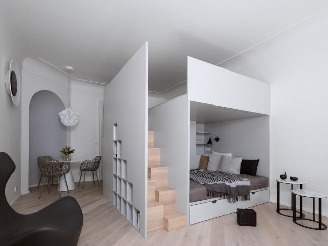 Rekonstrukce malého bytu Ve Stínadlech
