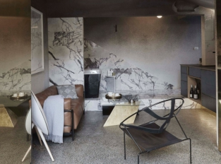 Airbnb v Melbourne - obývací pokoj