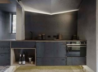 Airbnb v Melbourne - kuchyň