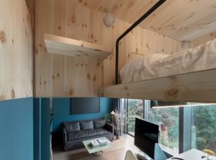Hong Kong treehouse - ložnice
