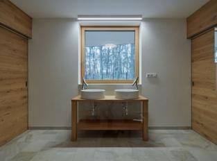 Lesní vila - koupelna