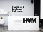 Hlaváček & Loužecký Hair Salon 2013 H&M recepce