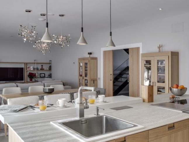 Kuchyň ekologického domu