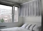 Betonový byt - ložnice