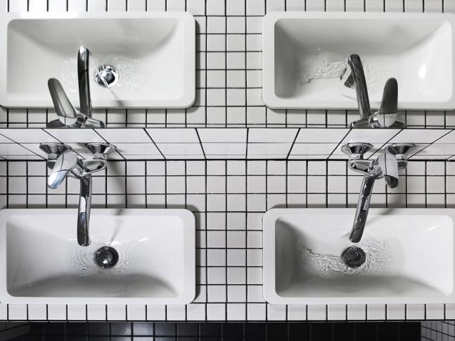 Byt v podkroví - koupelna
