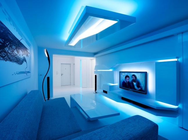 Bílý byt