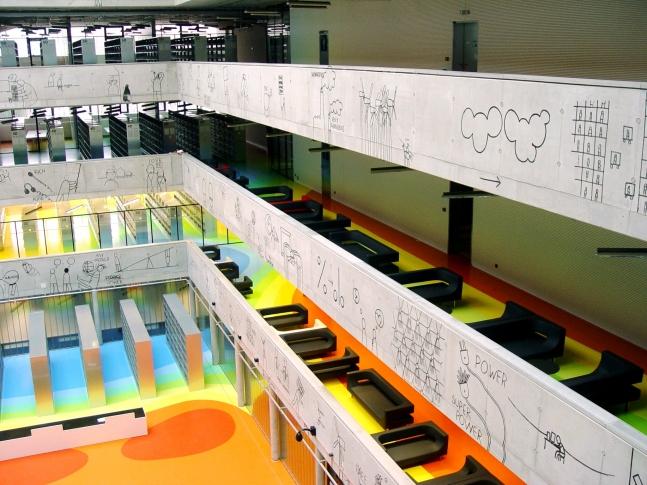 Interiér Národní technické knihovny NTK 01