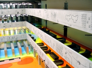 Interiér Národní technické knihovny