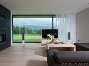 RD v Beskydech - obývací pokoj
