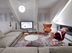 Penthouse Praha 1 - Obývací pokoj