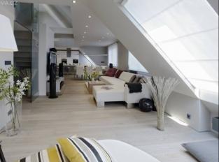 Byt v Kubelíkově ulici - obývací pokoj