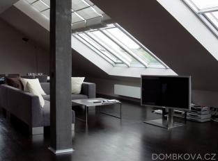 Byt v Krakovské ulici - obývací pokoj