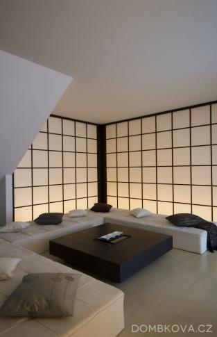 Byt pro cizince - obývací pokoj
