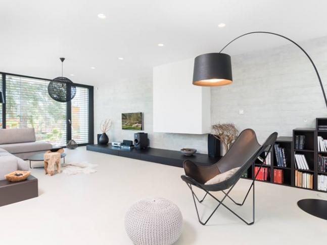 Moravská / obývací pokoj