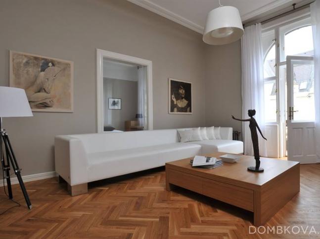 Byt v Pařížské / obývací pokoj Byt v Pařížské / obývací pokoj